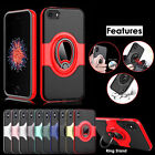 Magnetic Car Holder Shockproof Ring Stand Case Cover For Apple iPhone 6S 7 8 X