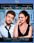 movies with friends with benefits - FRIENDS WITH BENEFITS 2011 BLU-RAY with Justin Timberlake, Mila Kunis
