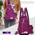 New Lady Outdoor Chest Backpack Waterproof Sports Travel Bag School Bag US