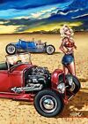 Topless Tina by Big Toe Canvas or Paper Rolled Art Print