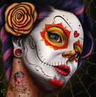 Poison Girl by Randy Drako Canvas or Paper Rolled Art Print