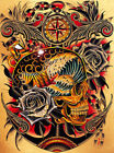 Course by Tyler Bredeweg Canvas or Paper Rolled Art Print