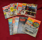 16) MOTOR TREND Magazines * FROM THE 60'S * 11 FROM 1960 AND 5 FROM 61 TO 68