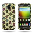 Slim Snap On Rigid Plastic Design Phone Cover Case Protector for LG Lucid 3