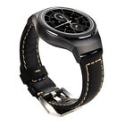 Genuine Leather Watch Band For Samsung Gear S2 SM-R720 - SM-R730 with Adapter US