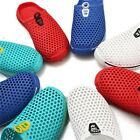 New summer Men's Breathable Slippers Hollow-out Beach Sandals Garden Hole Shoes