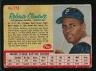1962 POST  ROBERTO CLEMENT  GOOD  PITTSBURGH PIRATES  #173  MULTIPLE CREASED