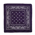 Paisley Bandana Headwear Hair Bands Scarf Neck Wrist Wrap Band Head Tie Color