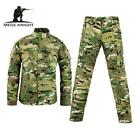 Army military tactical cargo pants uniform waterproof camouflage tactical milita