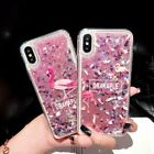 Cute Flaming Dynamic Liquid Glitter Fashion Phone Case Cover For iPhone/Samsung
