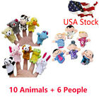 Внешний вид - 16PCS Finger Puppets Animals (10) People (6) Family Members Educational Toy Gift