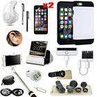 Case+Earphone+Selfie Stick+Fish Eye+Charger Accessory Kit For iPhone X XR XS Max