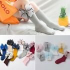 Внешний вид - Cotton Baby Girls Socks Bow Frilly Knee High Socks Kids Princess Socks 1-8 Years