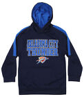 OuterStuff NBA Youth Oklahoma City Thunder Fleece Pullover Hoodie, Navy