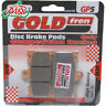 Suzuki TV 250 L Wolf 1990 Goldfren Front GP-5 Disc Brake Pads