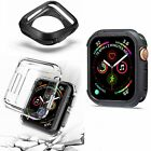 For Apple Watch Series 4 Clear Soft TPU Case Cover Screen Protector 44mm 40mm