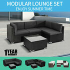 Outdoor Furniture Set Pe Wicker Garden Modular Lounge Sofa Set