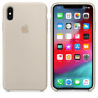 Original For Apple iPhone XS X 10 Silicone Case Genuine Protective Back Cover
