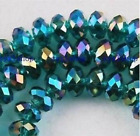 74pcs, 4mm Ladies Faceted Womens TOP Gifts Crystal Gemstone Abacus Loose Beads