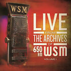 Various Artists : Live from the Archives of 650am WSM - Volume 1 CD (2013)