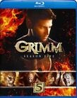 GRIMM: SEASON FIVE NEW BLU-RAY DISC