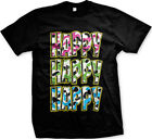 Happy Happy Happy Camo Colors Redneck Hunting  Mens T-shirt
