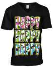 Happy Happy Happy Camo Colors Redneck Hunting  Mens V-neck T-shirt