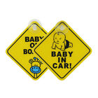 Внешний вид - GX- Baby on Board Car Warning Safety Suction Cup Sticker Waterproof Notice Board