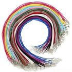 10pcs/Lot 3mm Suede Leather Cord DIY Jewelry Making 45CM+5CM Necklaces Rope