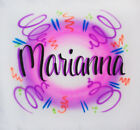 Wild Style Background Airbrush Shirt - Name Included