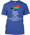 Keep Calm South African Guy - And Let The Handle It Standard Unisex T-shirt