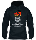 Keep Calm German Girl 3 - And Let The Handle It Standard College Hoodie