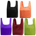 Foldable Eco Handbag Reusable Bag Supermarket Shopping Tote Grocery Bags Pouch