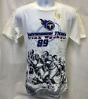 VINTAGE TENNESSEE TITANS FRANK WYCHECK #89 T-SHIRT M L XL FREE SHIPPING