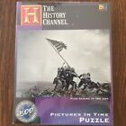 Iwo Jima Puzzle Flag Raising History Channel Pictures in Time WW2 Marines 513 Pc