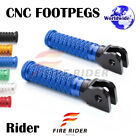 POLE Front CNC Footpegs Footrests For Kawasaki Z800 13-16 13 14 15 16 image