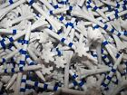 "NEW 3 & 1/4"" 3.25 Champ Zarma MyHite Flytees Blue White Striped Golf Tees"