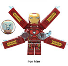 Iron-Man Marvel Avangers Infinity War Thanos Super Heroes Building Blocks Toy DC