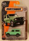 Matchbox 2018 MBX Off Road #118/125- Land Rover 90 GREEN 65th Logo QUANTITY