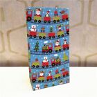 5Pcs Snowflake Christmas Snowman Tree Food Cookie Gift Paper Bag Perfect