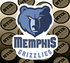 Memphis Grizzlies Logo NBA Die Cut Vinyl Sticker Car Window Hood Bumper Decal on eBay