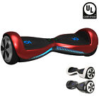 "Gift 6.5"" Hoverboard Listed Smart F Electric Scooter Bluetooth LED 2 Wheels"