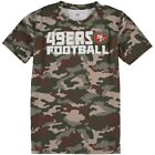 San Francisco 49ers Youth Camo Sublimated Synthetic T-Shirt