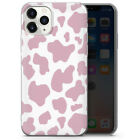 Cow Moo Pink phone case cover for iPhone
