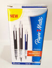 PAPER MATE PM880 Spring Ball Box 11 Gel Writing Pens Blue Ink 0.7mm BRAND NEW