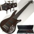 IBANEZ SR506 6-String BASS & SKB CASE -CLEAN!- No Reserve - Free Shipping!