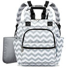New Diaper Bag Baby Nappy Backpack Large Mummy Bag Changing Pad Stroller Straps