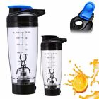 600ml Shaker Cup Electric Protein Shaker Tornado Mixer Fitness Bottle Sports