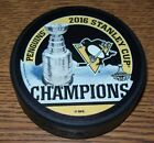 PITTSBURGH PINGUINS 2016 CHAMPIONS OFFICIAL HOCKEY PUCK BRAND NEW!!!!