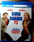 "Dumb and Dumber To  "" Blu-Ray Movie disc, Blu-ray Case and Artwork"